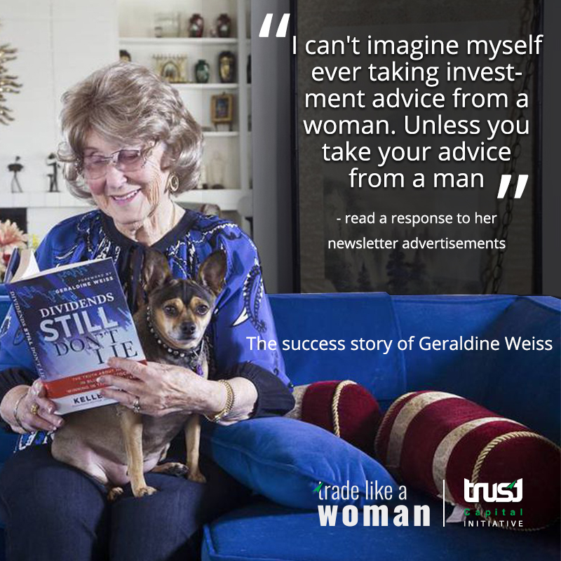 The success story of Geraldine Weiss - female success stories