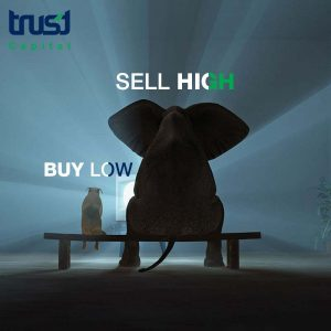 "Image representing ""buy low, sell high"" theory"